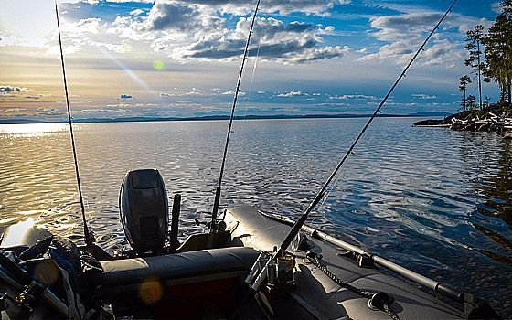 Рыбалка и отдых в Карелии - Посетите озера Пяозеро и Топозеро Любители зимней рыбалки